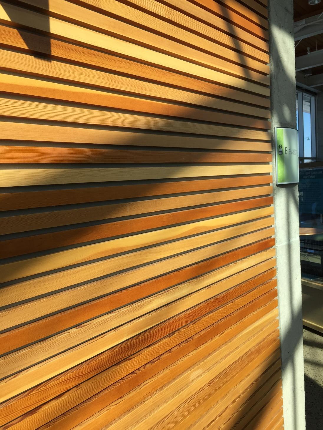 Wooden Slat Panels