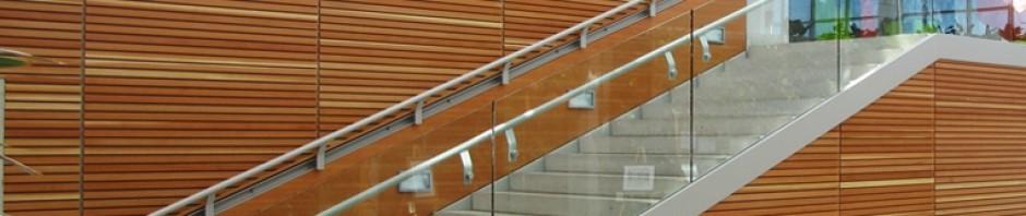 Douglas Fir Staircase Panels
