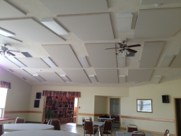 Seniors party room
