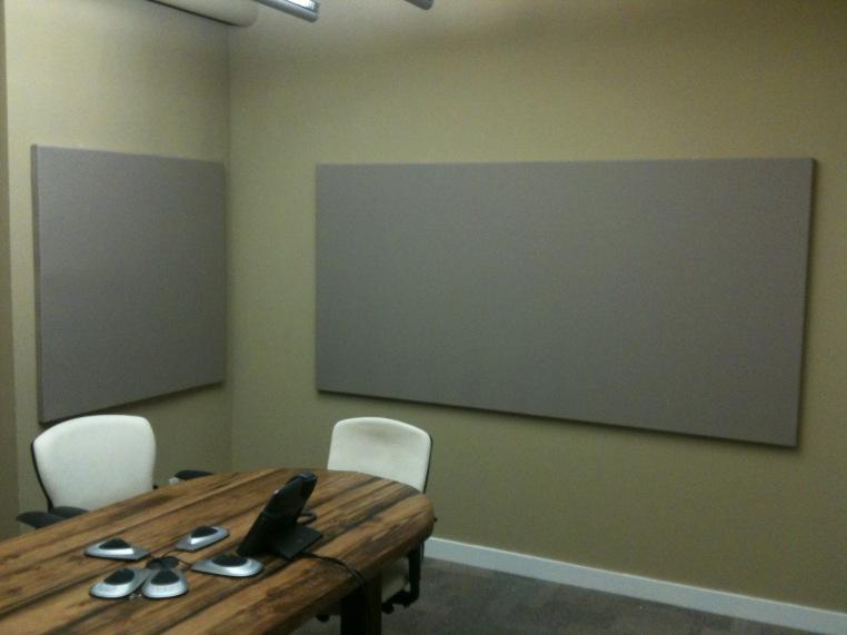 Tackboard in Meeting Room
